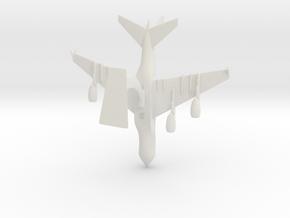 Airbus A380-0.25 in White Natural Versatile Plastic