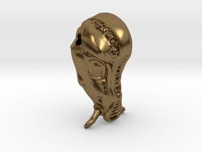 Fifth Element Mondoshawan Head Charm in Natural Bronze