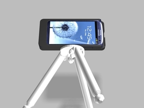 Samsung S3 5000mah Charger Tripod Camera Mount wit in White Processed Versatile Plastic