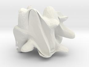 12407 in White Natural Versatile Plastic