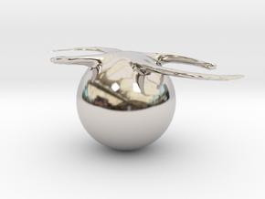 32311 in Rhodium Plated Brass