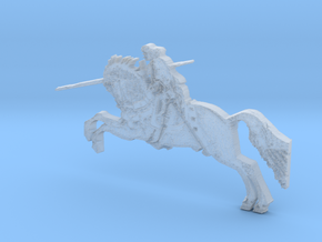 Medieval St George designed after Russian Icon in Smooth Fine Detail Plastic
