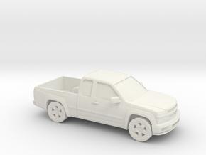 1/87 2002-12 Chevrolet Colorado in White Natural Versatile Plastic