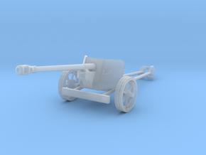 1/87 H0-scale Pak40 german anti tank gun WW2 in Frosted Ultra Detail