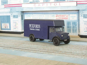 1:43 Bedford OY Cab & Chassis (single fuel tank) in White Processed Versatile Plastic