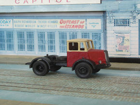 1:43 Dennis Horla Tractor in White Strong & Flexible Polished