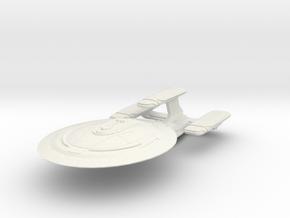 DeltaRam Class Refit Cruiser (Big) in White Natural Versatile Plastic