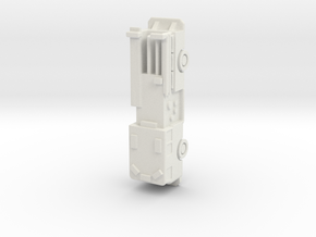 Seagrave Engine 1:285 scale in White Natural Versatile Plastic: 6mm