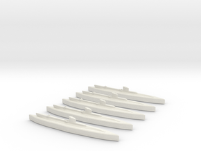 Upholder (British U Class) 1/1800 x5 in White Natural Versatile Plastic