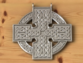 Airis pendant in Fine Detail Polished Silver