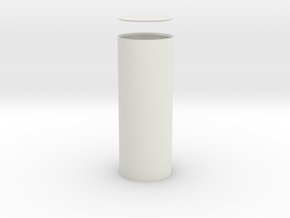 Columna Rotunda Solida in White Natural Versatile Plastic