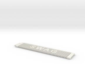 SWAG bracelet in White Natural Versatile Plastic