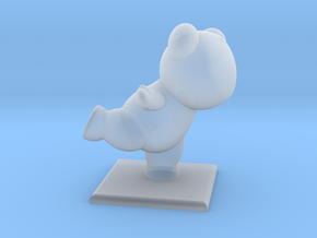 Yuna Bear Micro in Smooth Fine Detail Plastic