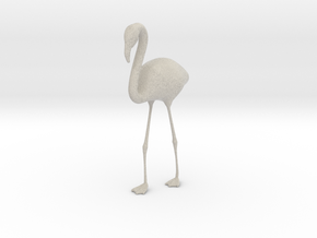 Flamingo - One Color  in Natural Sandstone