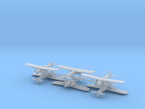 Caproni Ca.133 (6 Airplanes) 1/600 in Smooth Fine Detail Plastic
