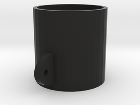 52mm Gauge Cup in Black Natural Versatile Plastic