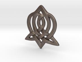 Celtic Sister Pendant in Stainless Steel