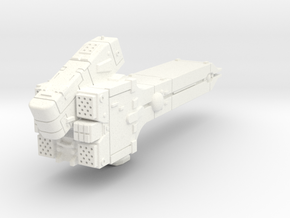 LoGH Imperial Destroyer 1:2000 in White Strong & Flexible Polished