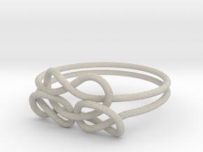 Bows Ring in Natural Sandstone