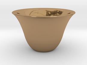 Japanse Sake-cup  in Polished Brass