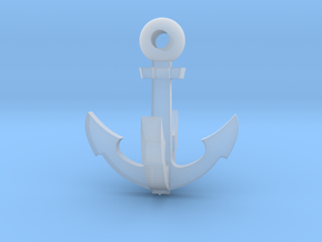 Grappling Hook 2 - small in Smooth Fine Detail Plastic