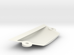 Ranger EX Landing Gear Cover in White Natural Versatile Plastic