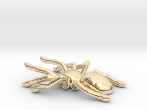 Spider mini in 14k Gold Plated Brass