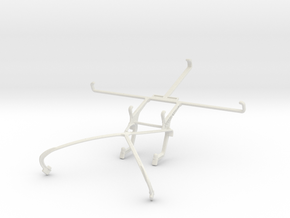 Controller mount for Shield 2015 & Asus Google Nex in White Natural Versatile Plastic