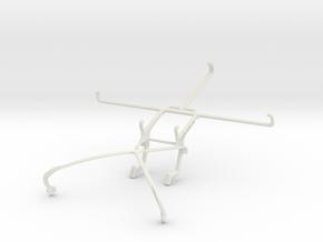 Controller mount for Shield 2015 & Dell Venue 8 in White Natural Versatile Plastic