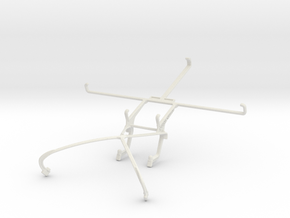 Controller mount for Shield 2015 & Dell Venue 8 Pr in White Natural Versatile Plastic