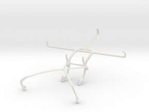 Controller mount for Shield 2015 & Lenovo IdeaTab  in White Natural Versatile Plastic