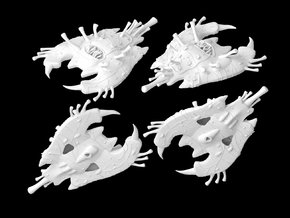 Yuuzhan Vong's Yorik-Vec 1/270 in White Strong & Flexible