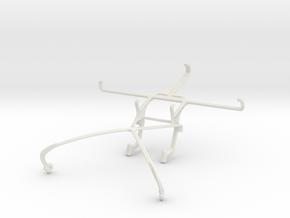 Controller mount for Shield 2015 & Oppo N1 in White Natural Versatile Plastic