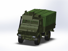 MB Unimog U1300  gepanzert/armored 1:160 in Smooth Fine Detail Plastic