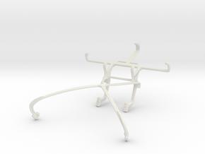 Controller mount for Shield 2015 & Samsung I9190 G in White Natural Versatile Plastic