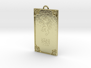 Game of Thrones - Lannister Pendant in 18k Gold Plated Brass