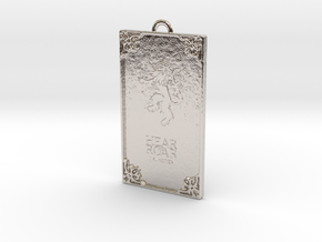 Game of Thrones - Lannister Pendant in Rhodium Plated Brass