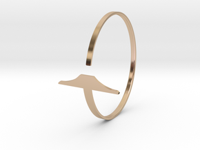 a r c h i t e c t s series - Bracelet Wrapped T-Sq in 14k Rose Gold Plated Brass