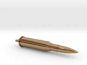 Bullet hollow in Polished Brass