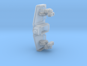 Roller coaster train front V2 in Smooth Fine Detail Plastic