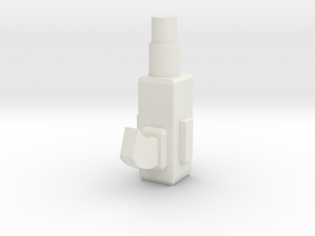 Grenade Launcher in White Natural Versatile Plastic