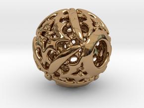 PA CharmV1D14SE555 in Polished Brass