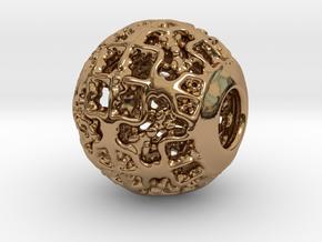 PA CharmV1D14SE549 in Polished Brass