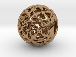 PA CharmV1D14SE503 in Polished Brass