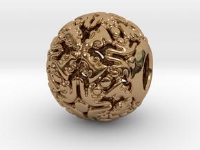 PA CharmV1D14SE501 in Polished Brass