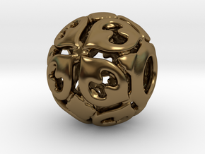 PA CharmV1D14SE85 in Polished Bronze