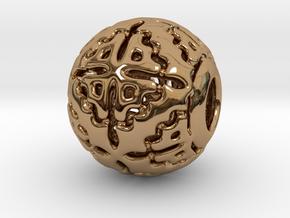 PA CharmV1D14SE56 in Polished Brass
