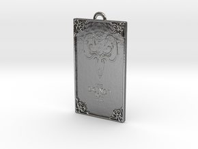 Game of Thrones - Greyjoy Pendant in Fine Detail Polished Silver