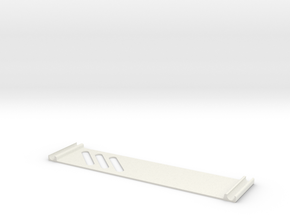 EMAX 250 Nighthawk Pro Side Cover in White Natural Versatile Plastic