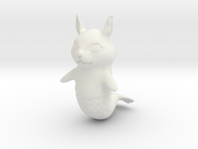 Merrabbits in White Natural Versatile Plastic